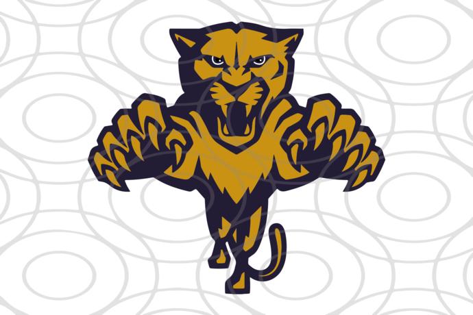 Florida Panthers,NHL svg, hockey svg file, hockey logo,NHL fabric, NHL