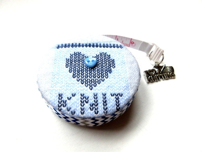 Tape Measure Love to Knit Retractable Measuring Tape