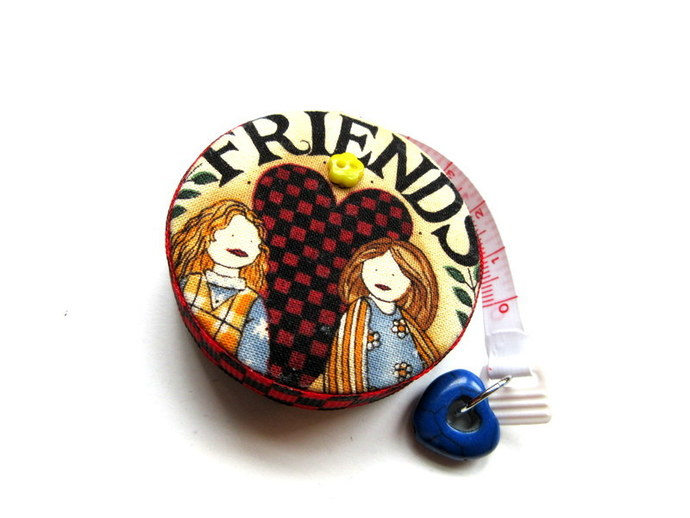 Small Tape Measure All About Friends Retractable Measuring Tape