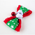 Santa's Elf Red and Green Bow for Cats, Small Dog Accessories, Bow Ties for