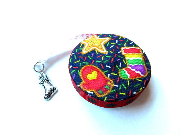 Retractable Tape Measure Merry Christmas Small Measuring Tape
