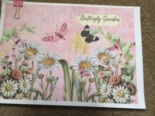 Butterfly gardens Journal starter kit.  Printed on quality paper and ready to