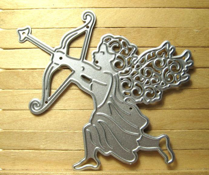 Cupid or Cherub with Bow Metal Cutting Die