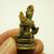 Maa Lakshmi Laxmi devi hindu goddess mini brass amulet figurine statue blessed
