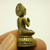 Lord Buddha Phra Nirvana mini statue figurine blessed for Long Peaceful