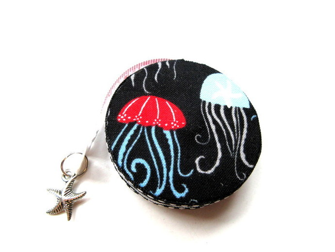 Retractable Tape Measure Jellyfish and Starfish Small Measuring Tape