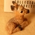 Stone Critters Fawn, Vintage Figurine, Fawn Figurine, Clay Figurine, Collectible