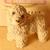 Stone Critters Lamb Baby, Vintage Figurine, Lamb Figurine, Clay Figurine,