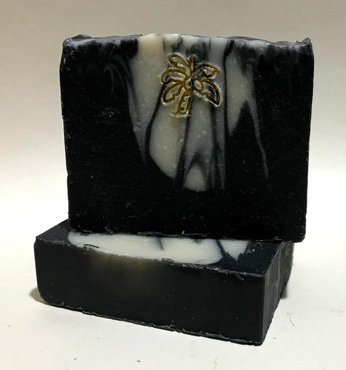 Activated Charcoal Soap / Detox Soap / Essential Oil Soap / Natural Soap /