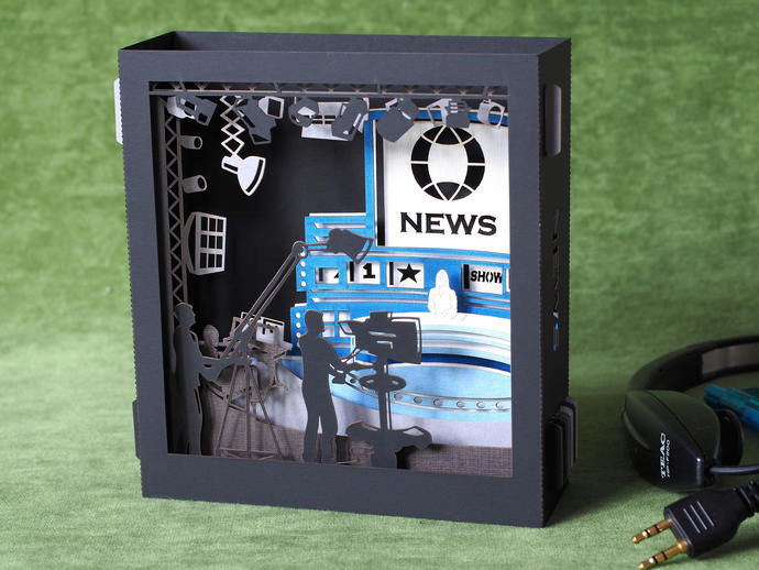 TV studio invitation gift program channel news television custom gifts custom