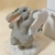 Charming Tails Bunny Figurine, Town Crier, Item 87/696, Bunny Figurine, Novelty