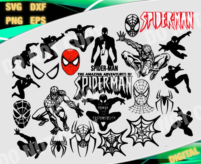 Marvel cut file, Marvel svg, Super Hero svg, Spiderman Svg, Advenger svg, files