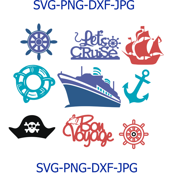 Cruise Ship Svg Files Cruise Clipart Cruise By Digital4u On Zibbet