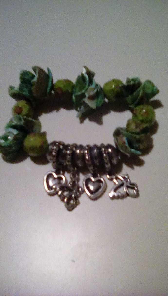 Chunky Shell Bracelet
