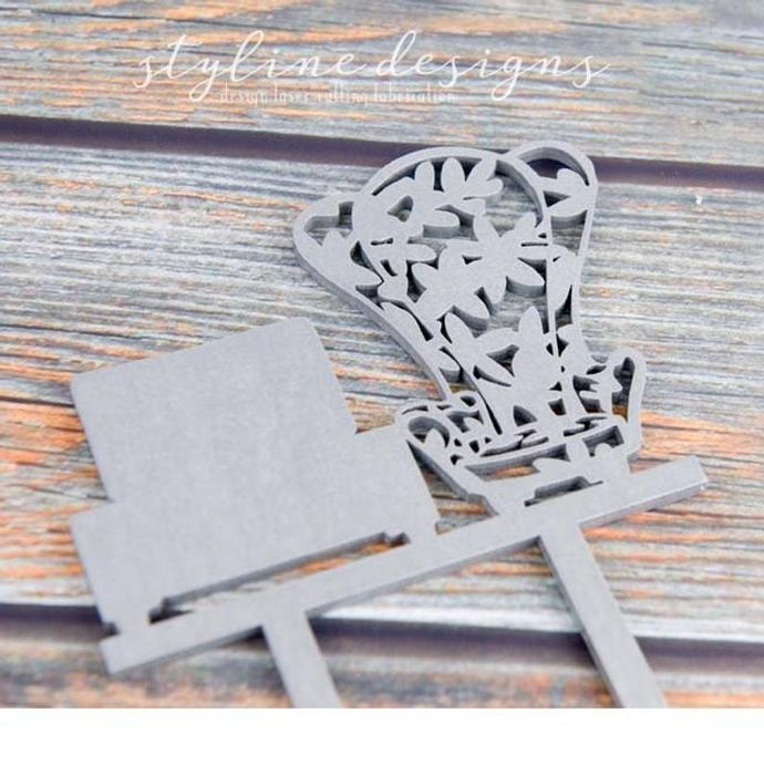 Adventure Chairs Wedding Laser Cut Sign or Topper