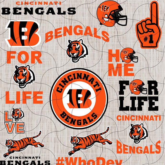 Cincinnati Bengals, Cincinnati Football, Bengals, bengals svg, college football,