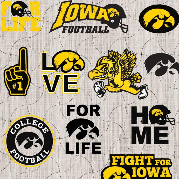 Iowa Hawkeyes football, Iowa svg, Iowa team, Iowa Hawkeyes logo, Iowa Hawkeyes