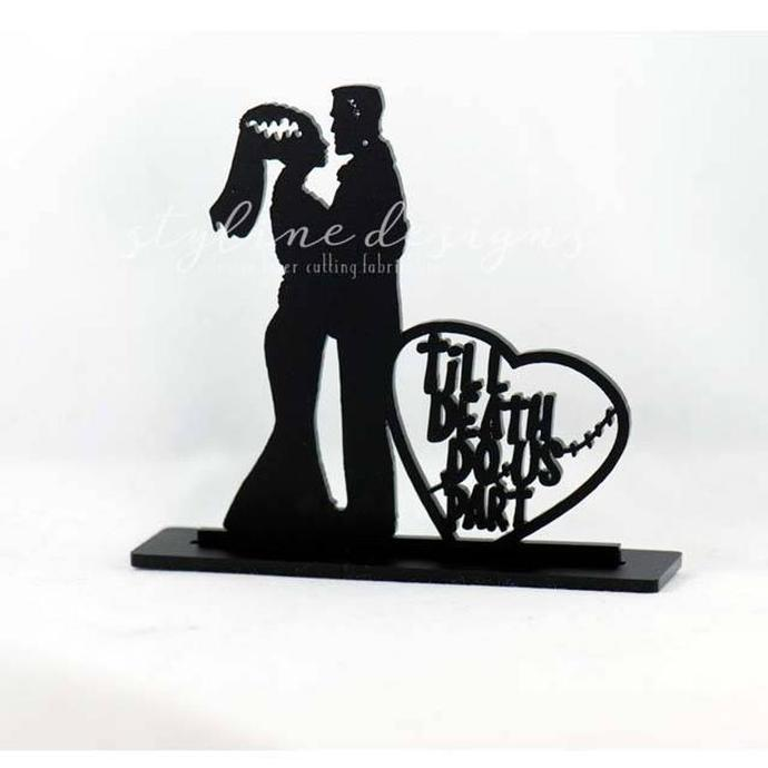 TIl Death Do Us Part Wedding Laser Cut Sign or Topper