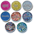 Eco Shine - Set of 8 Biodegradable Glitters - 15ml size