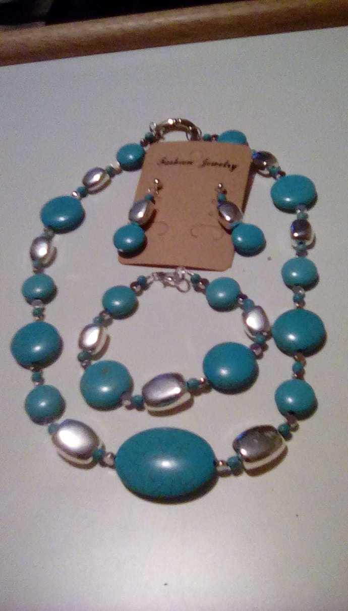 Women's Beaded Jewelry, Mystic, Necklace, Bracelet, Earrings, Handmade
