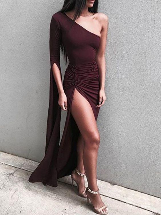 A-Line Prom Dresses , Sexy Prom Dresses