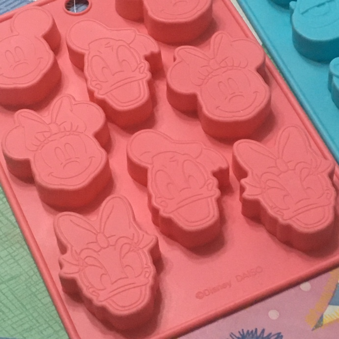 Japanese Disney Silicone Chocolate Mold: Mickey and Friends or Monsters