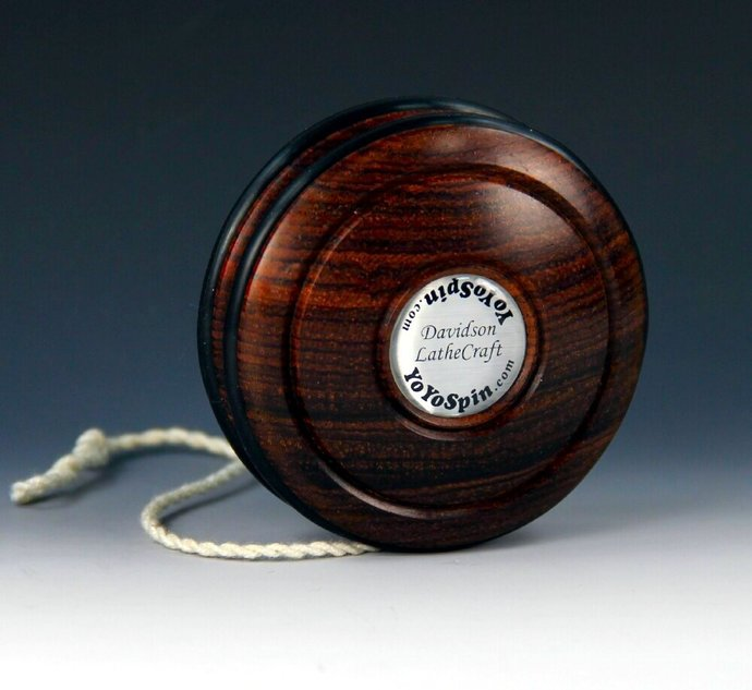 Mexican Cocobolo Handmade Yo-Yo: Fixed Axle Imperial