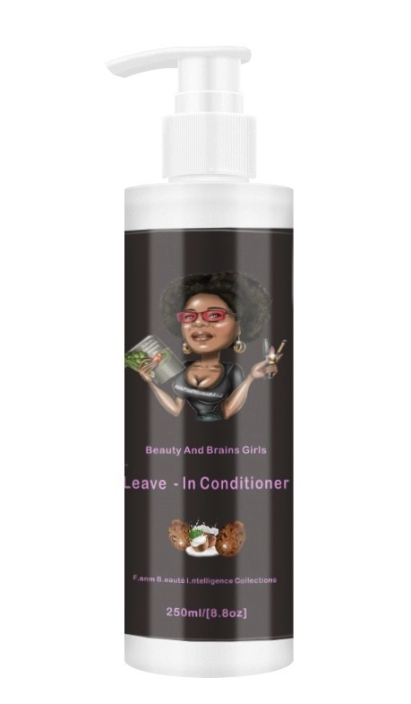 WHOLESALE SAMPLES -5 PCS  Beauty And Brains Girls Leave-In Conditioner