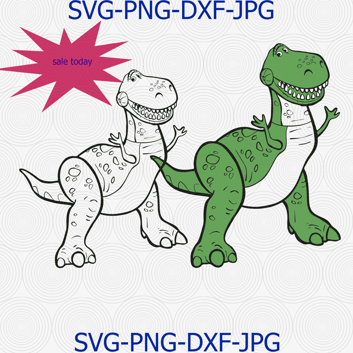 Disney Toy story Rex, Disney quote, DISNEY Rex Characters svg, Disney Rex SVG,