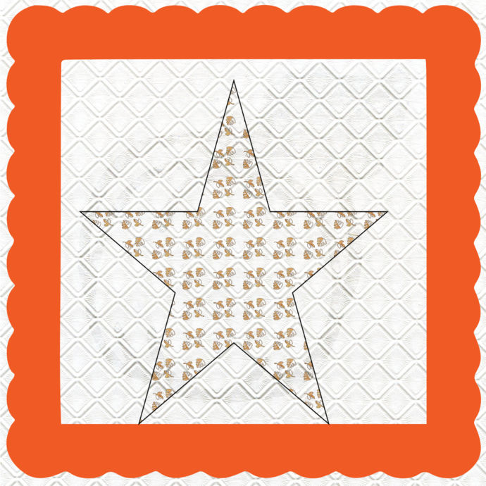 Fall Shape 7-Jewelry Tag-Clipart-Star-Gift Tag-Holiday-Digital