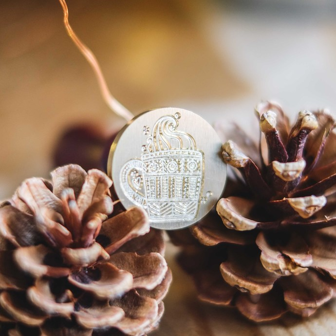 London Gifties wax seal - Hot Cuppa - perfect as a gift for yourself & your