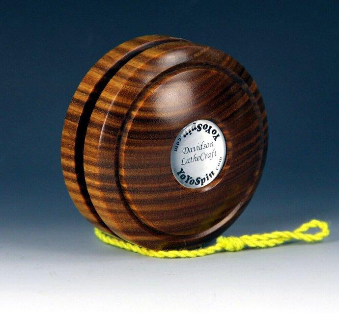 Argentine Lignum Vitae Handmade Yo-Yo: Fixed Axle Imperial
