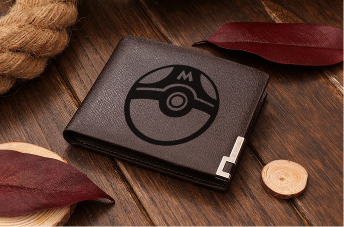 Pokemon Master Ball Leather Wallet