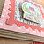 Cozy Christmas Snow Globe Wiggly Card, Home, Holiday, Season's Greetings, Pink,
