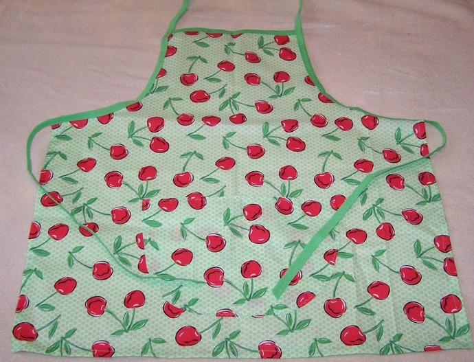 Full apron, Cotton apron, Women's apron, Girl's apron, Kitchen accessory, Gift