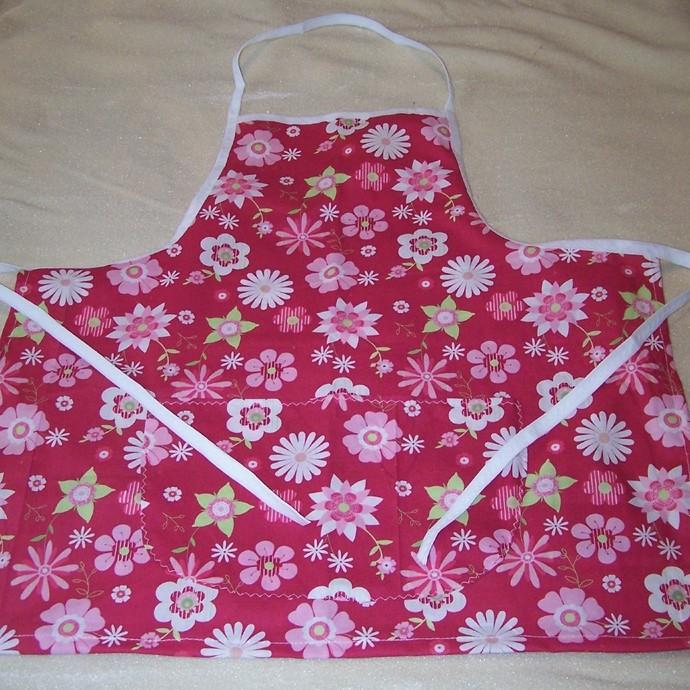 Full apron, Cotton apron, Women's apron, Girl's apron, Kitchen accessory, Gift