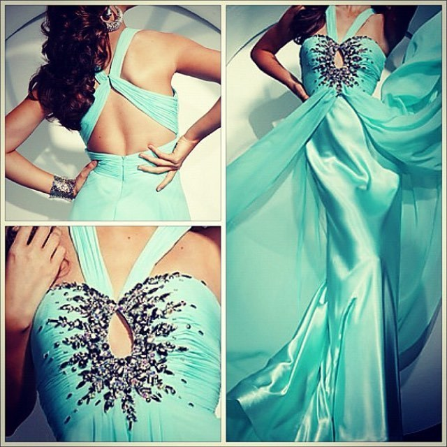 Charming Prom Dress,Chiffon Prom Gown, Beading Prom Dress, A-Line Prom Gown 9992