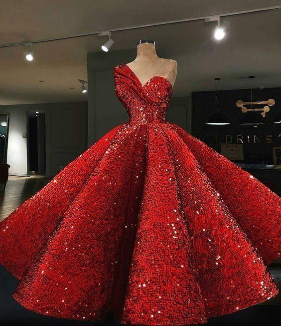 Unique prom dress ,evening dress