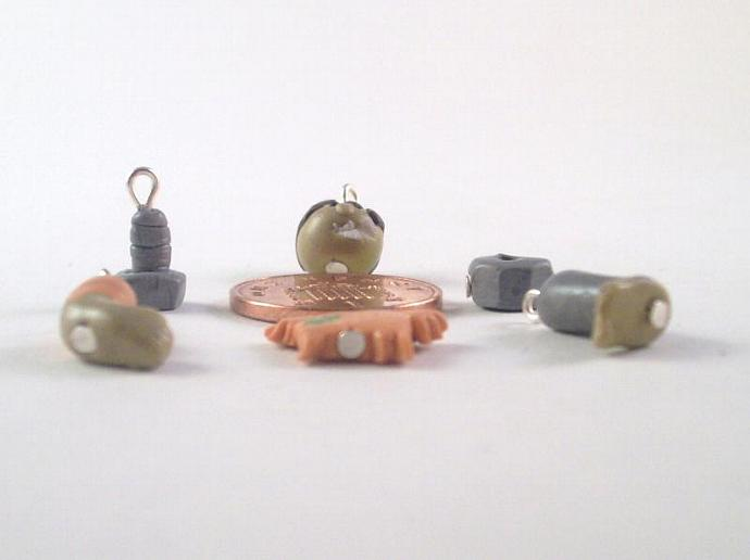 Frankenparts Stitch Markers - set of 6