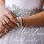 Pearl Cuff Bridal Bracelet with white Swarovski pearls / Pearl Wedding bracelet