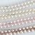 Bridal Necklace, Wedding Necklace, Bride, Blush pearl necklace, Blush Bridal