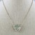 """19"""" Chain Necklace with Heart Pendant"""