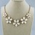 """16"""" Choker Floral Chain Necklace"""