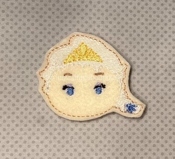 Elsa Frozen Inspired Feltie 4 pc set UNCUT