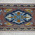 1x3 ft. Rug Hand Knotted Small Oushak Rug Distressed Low Pile Small Area Rug