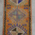 18ʺ x 35ʺ  Rug Hand Knotted Small Turkish Rug Distressed Low Pile Front of