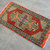 2x3 ft. Rug Hand Knotted Small Oushak Rug Distressed Low Pile Recent Fashion Rug