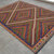 7x9 ft. Rug. Hand made Turkish Kilim Rug. Vintage Flat Weave Rug. Hand Woven