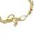 Gold crystal bracelet, dainty swarovski crystals and yellow gold bracelet,