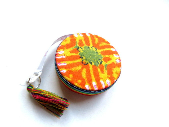 Retractable Tape Measure Groovy Tie Dye Small Measuring Tape